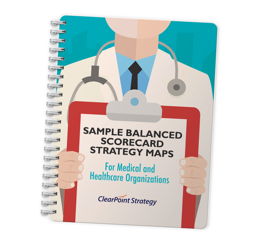 Sample Strategy Maps For Medical & Healthcare Organizations